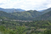 View of the Vilcabamba Valley