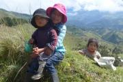 Ecuador kids were adorable