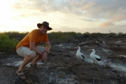 Sean and some boobys