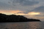 Sunset over Genovesa