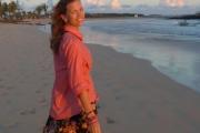 Cami likes long walks on the beach
