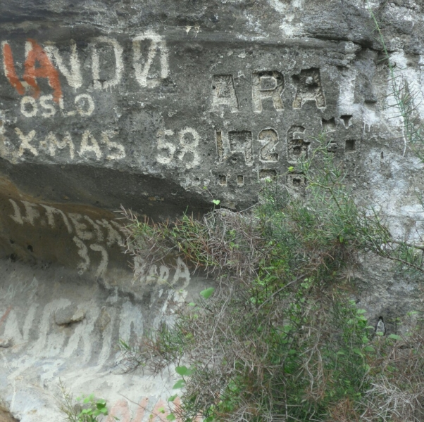 Old Markings from Whalers