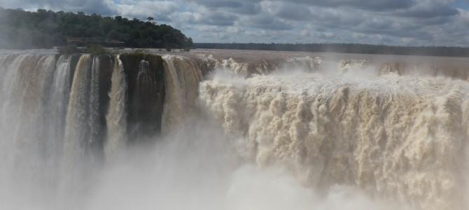 Falling for Iguazu